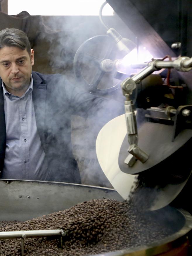 tostatura caffe planet coffee