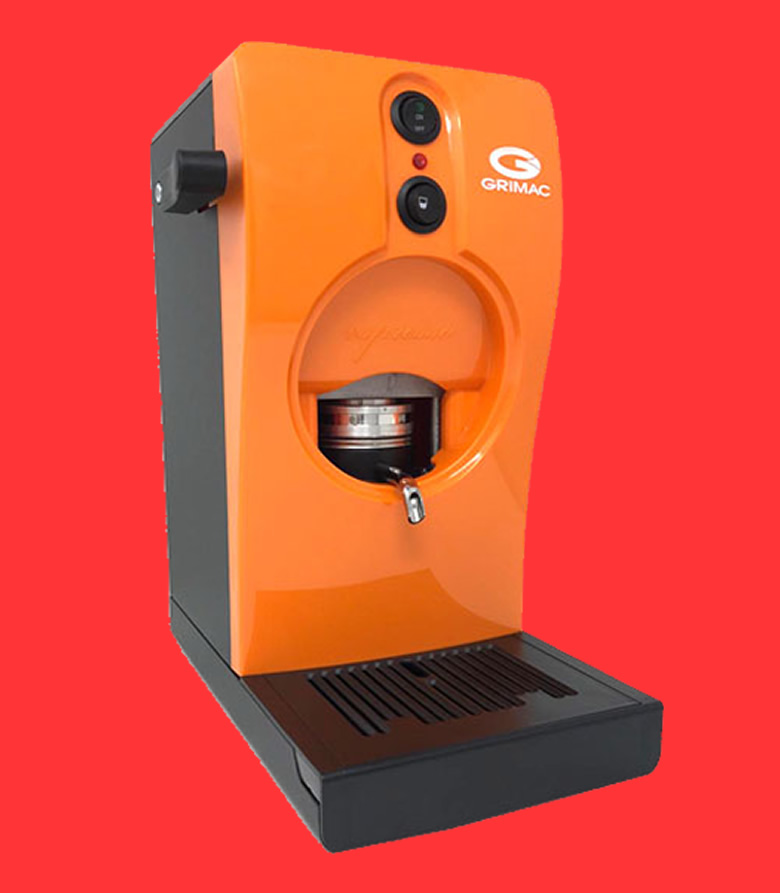 macchine a cialde Grimac arancione