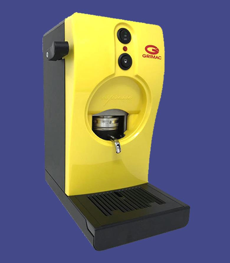 macchine a cialde Grimac gialla
