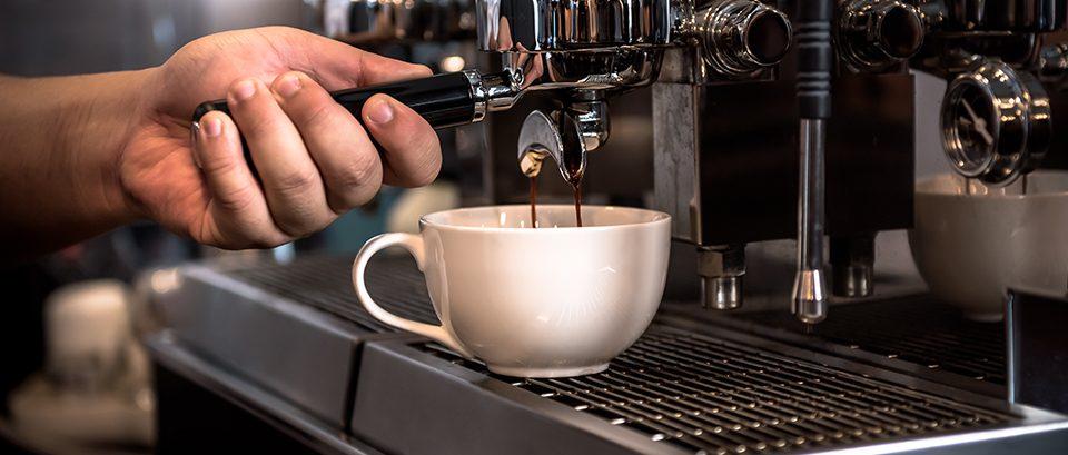 macchina caffe bar